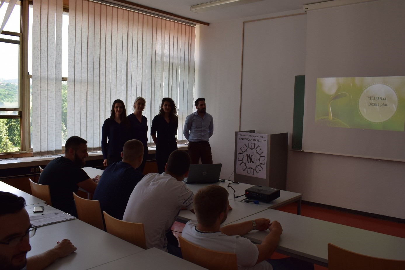 00 Student project presentation at University of East Sarajevo