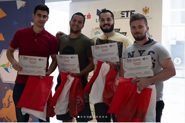 01 Team with Rebus students won on the EBEC competition